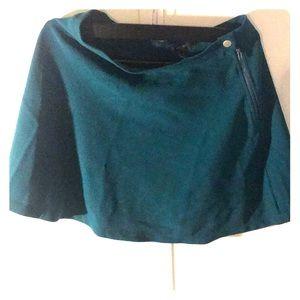 Green/teal skater skirt